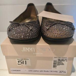 Jimmy Choo Ballet Flat Shoes !